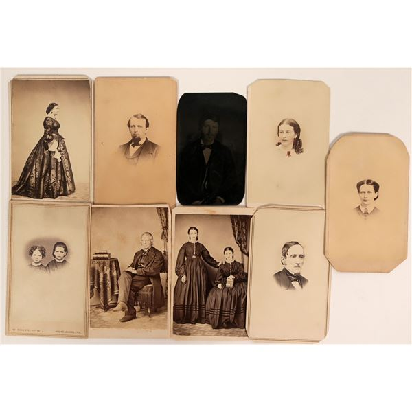Early US CDV Portraits  [135482]