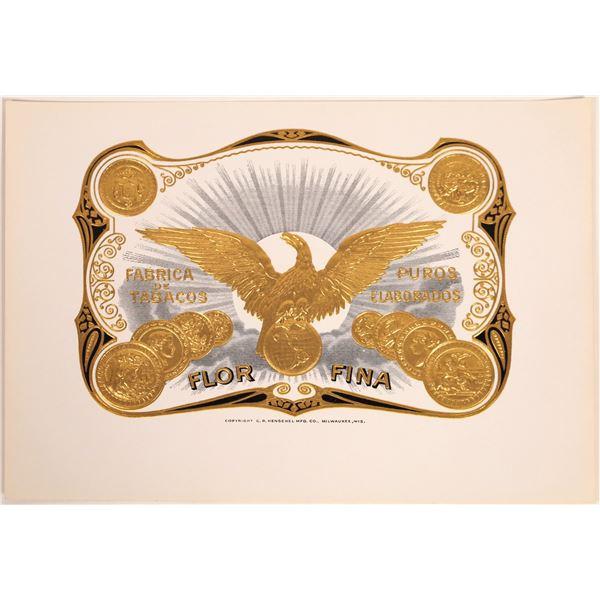 Flor Fina Cigar Box Label  [132118]