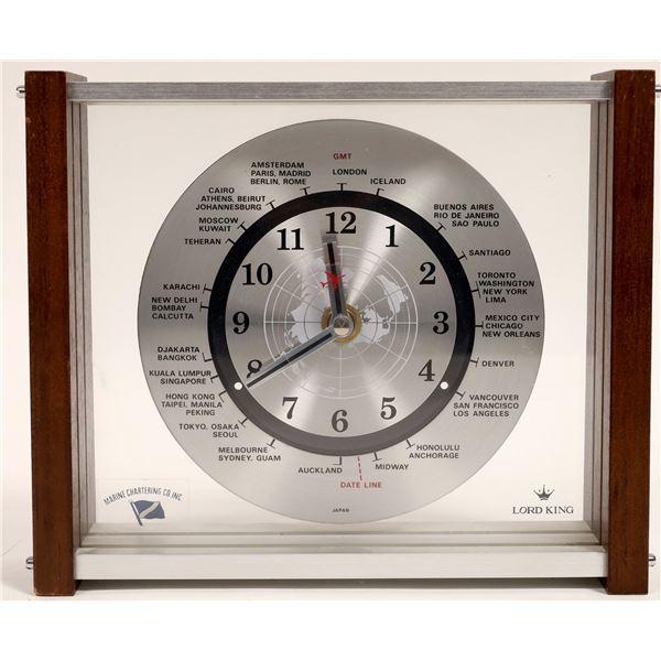 Marine Chartering Co. International Clock  [132142]