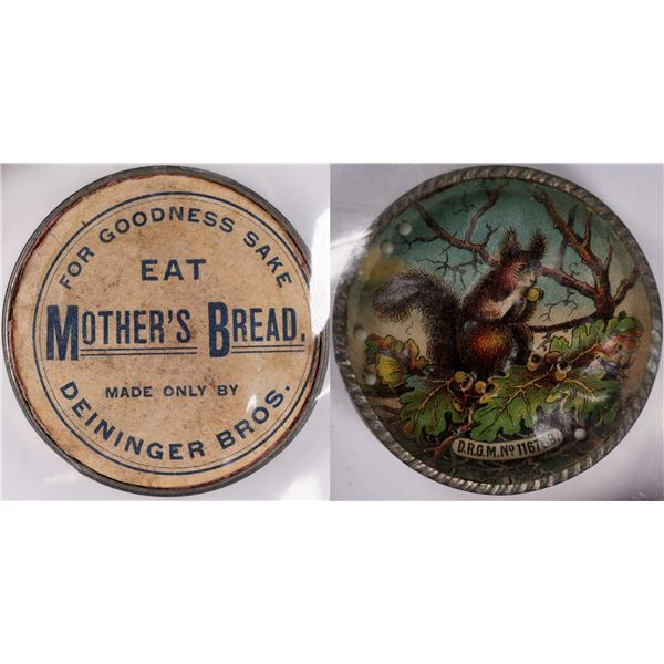Rare Mother's Bread Spinning Ball Game  [131196]