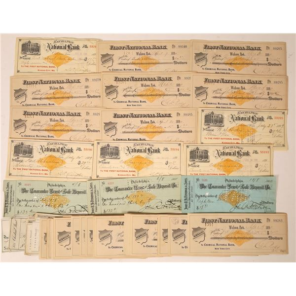 Revenue Imprinted Checks – Large Collection  [130095]