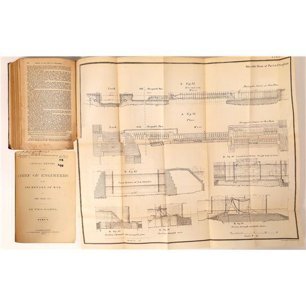 Secretary of War, Chief Engineer Report, 1875  [131830]
