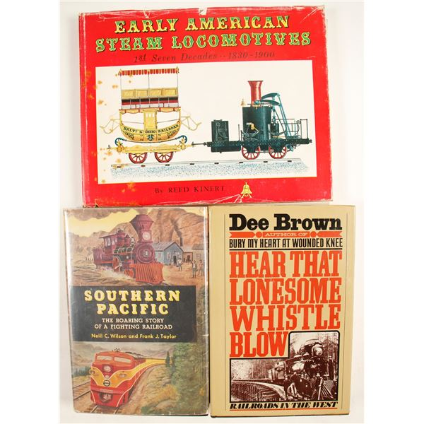 Rail Road Hardcovers  (3 count)  [135559]