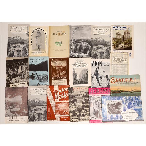 Vintage Western Tour Pamphlets  [132071]