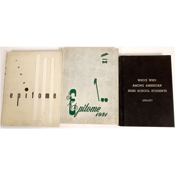 Yearbooks Various (3)  [132817]
