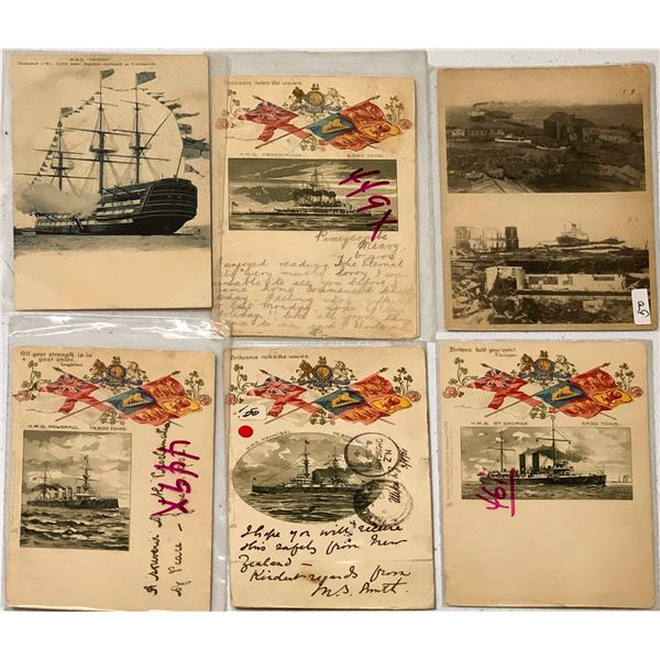 British Ship Postcards by Tuck (7)  [135519]