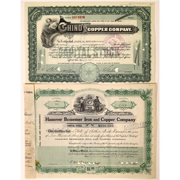 Two New Mexico Mining Stocks  [111840]