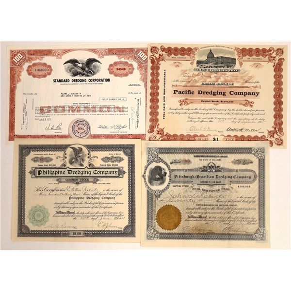 Gold Dredging Company Stock Certificates  [132101]