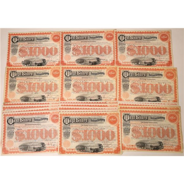 West Shore Railroad Co Bonds (19)  [129553]