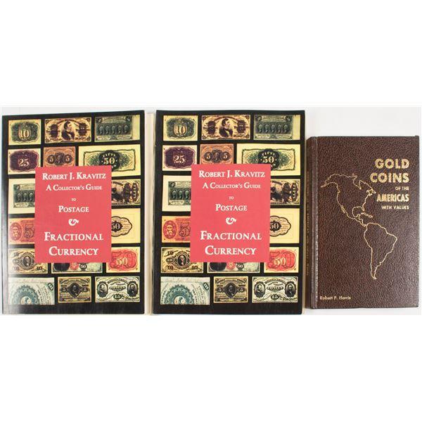 3 Coin Books  [135547]