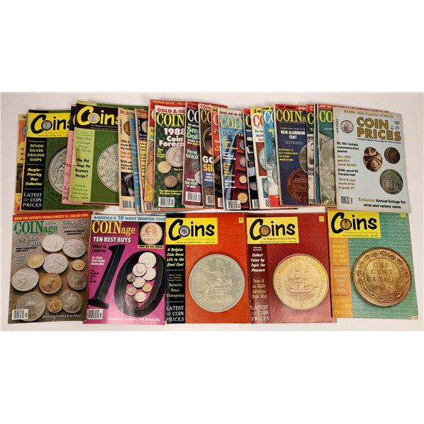 Coin Magazine Collection (30)  [133816]