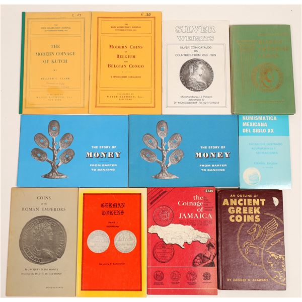 Foreign Coin Reference Book Collection  [132032]