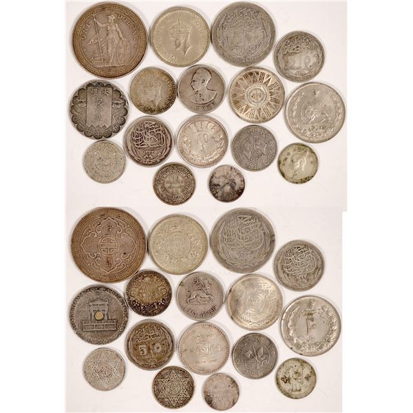 Asian and Arabic Silver Coin Collection  [135468]