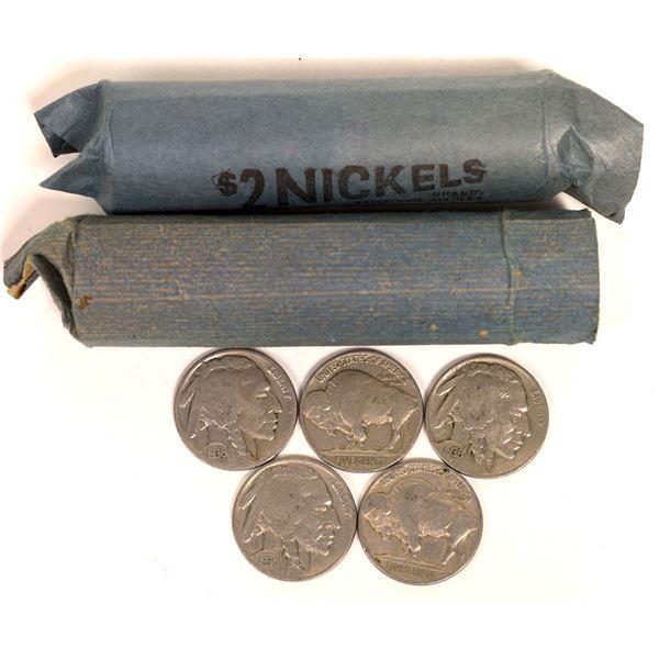 Buffalo Nickel Rolls  [131186]