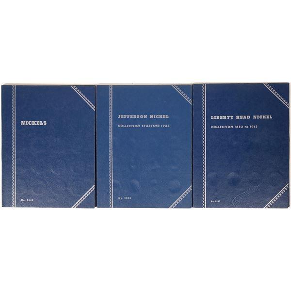 U.S. Nickel Coin Albums  [124797]