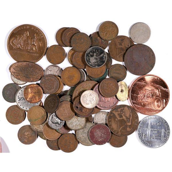 Miscellaneous Coin and Token Collection  [132122]