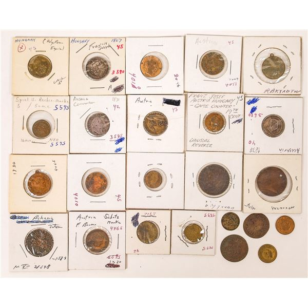 Franz Joseph Austria-Hungary Jeton Collection  [126139]