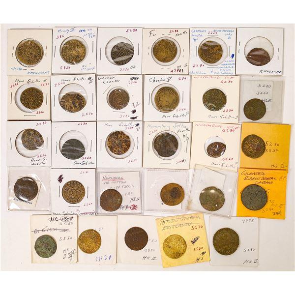 Hans Schultes Jeton Collection  [126176]