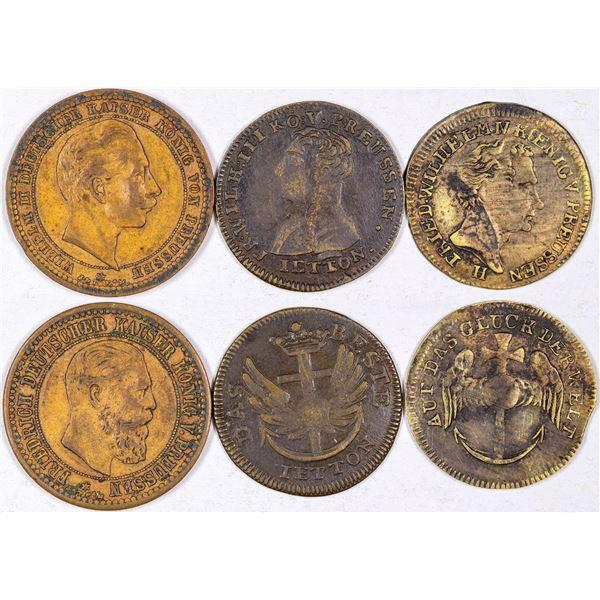 Prussian Jetons  [126138]