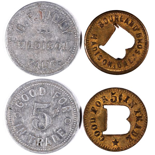 Bourland Bros./G.F. Tilly Tokens  [132174]