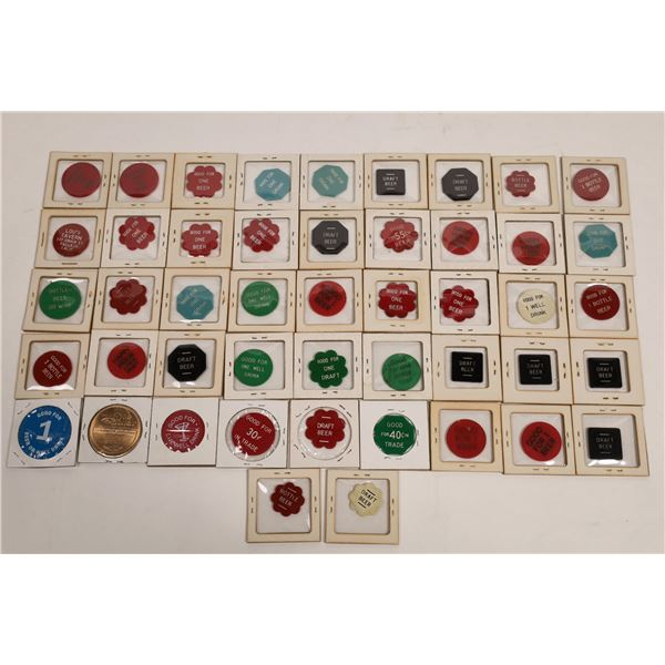 Vallejo Plastic Token Collection  [132208]