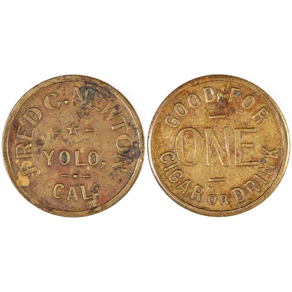 Fred C. Newton Token  [132178]