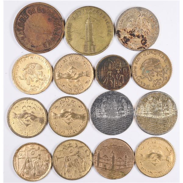 Unmarked Mexican Tokens  [130142]