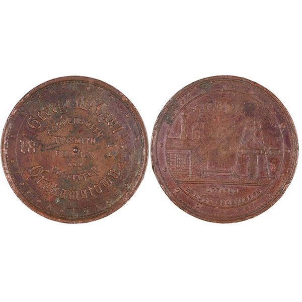 George McCaul, Grahamstown Penny Token  [132393]