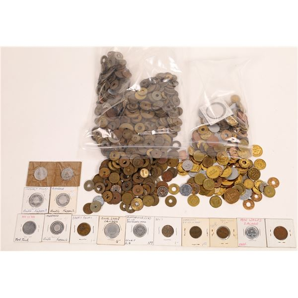 """A Bunch of """"Good For"""" Western Tokens  [131415]"""