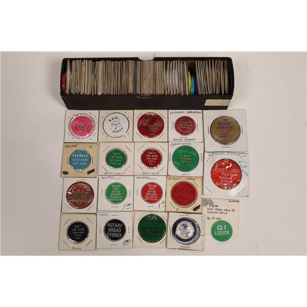 International Plastic Token Collection  [132209]