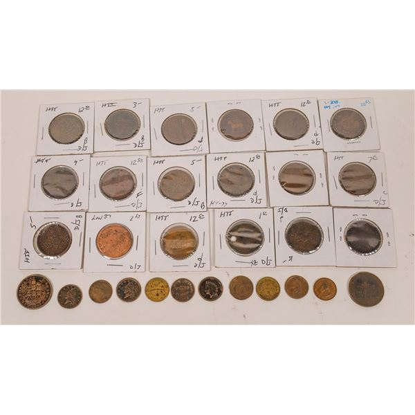 Hard Times and Civil War Token Collection  [132187]