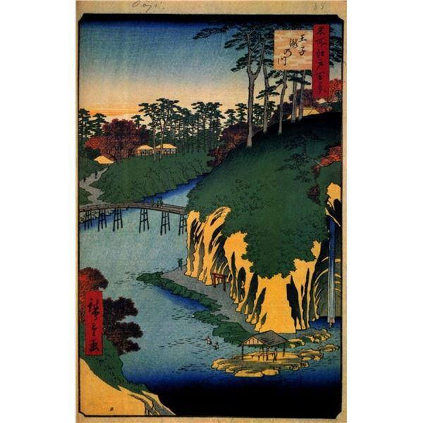 Hiroshige  - Takinogawa