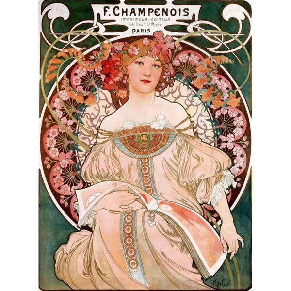 Alphonse Mucha  - Champenois