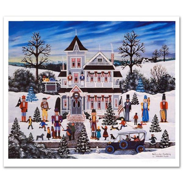 """Jane Wooster Scott, """"Nutcracker Fantasy"""" Hand Signed Limited Edition Lithograph"""