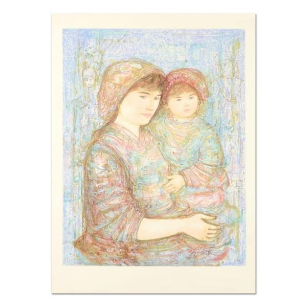 """Edna Hibel (1917-2014), """"Naomi"""" Limited Edition Lithograph, Numbered and Hand Si"""