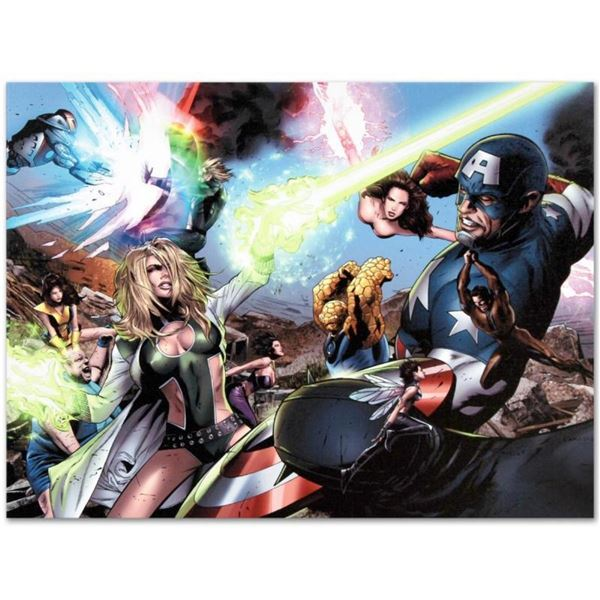 """Marvel Comics """"Ultimate Power #6"""" Numbered Limited Edition Giclee on Canvas by G"""