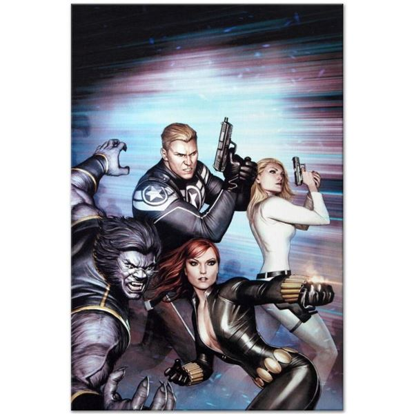 """Marvel Comics """"Secret Avengers #13"""" Numbered Limited Edition Giclee on Canvas by"""