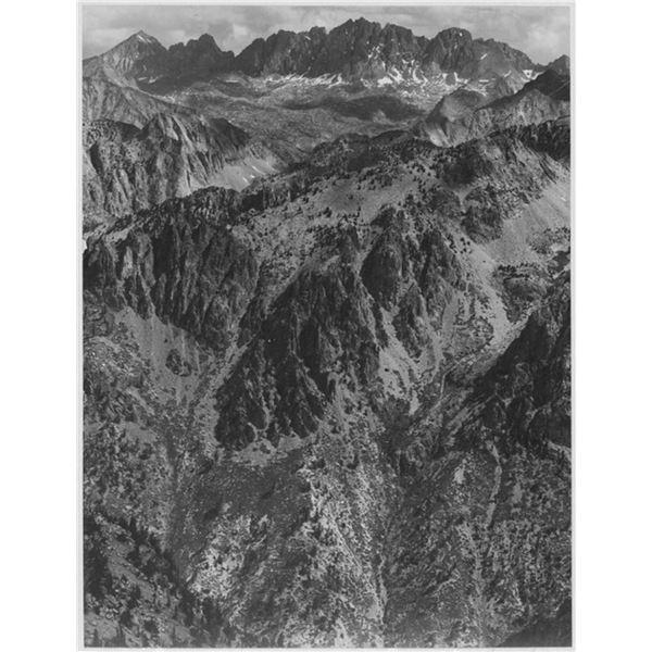 Adams - North Palisades, Kings River Canyon