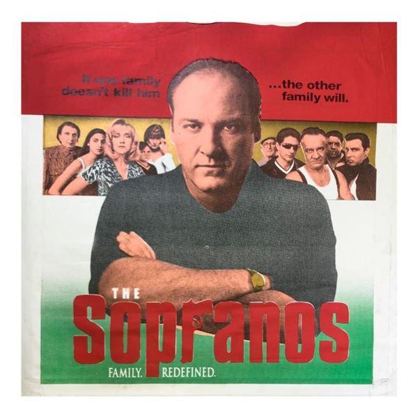 The Sopranos by Steve Kaufman (1960-2010)