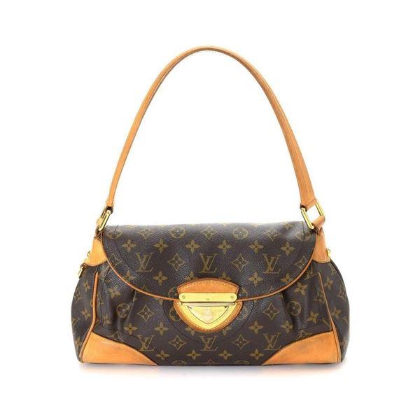 Louis Vuitton Brown Monogram Beverly MM Shoulder Bag