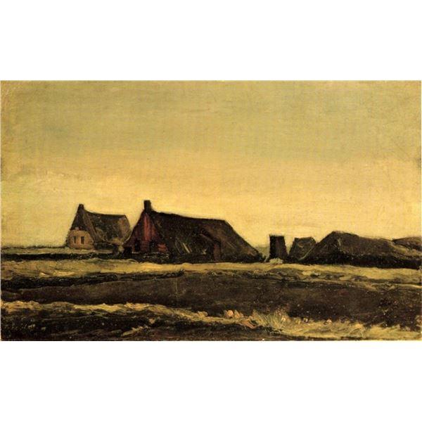Van Gogh - Cottages