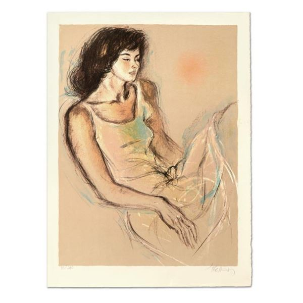"""Pecard, """"Reflections"""" Limited Edition Lithograph, Numbered and Hand Signed."""