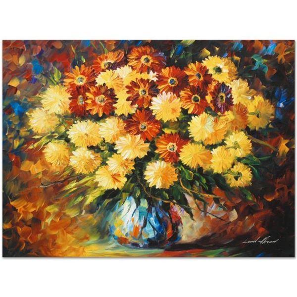 "Leonid Afremov (1955-2019) ""Evening Mood"" Limited Edition Giclee on Canvas, Numb"