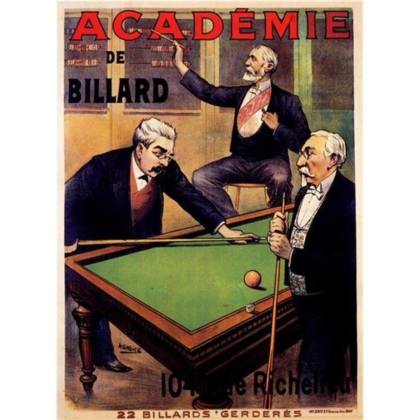 A Gallice - Academie De Billiard