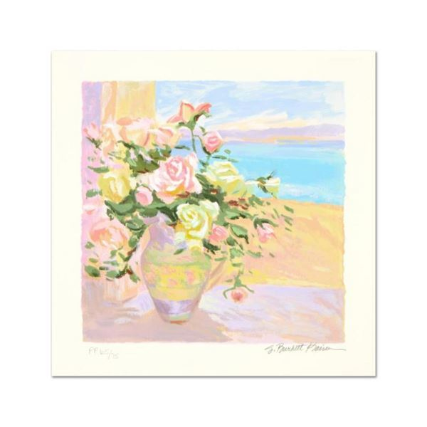 """S. Burkett Kaiser, """"Seaside Roses"""" Limited Edition, Numbered and Hand Signed wit"""