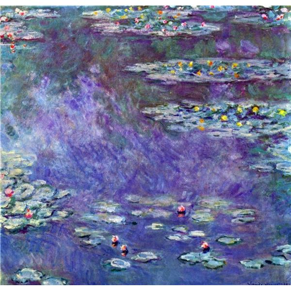 Claude Monet - Water Lily Pond #3