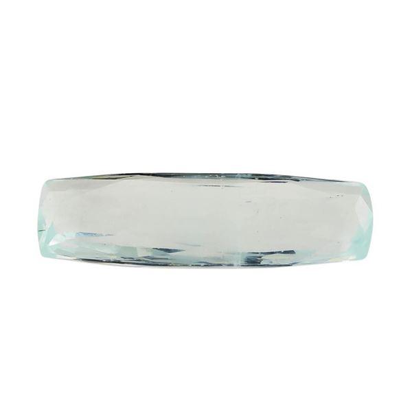6.28 ct.Natural Rectangle Cushion Cut Aquamarine