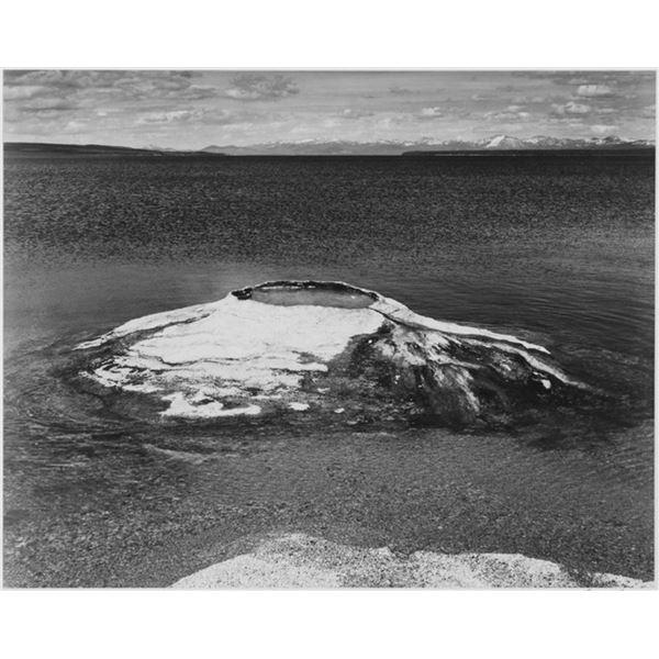 Adams - The Fishing Cone - Yellowstone Lake