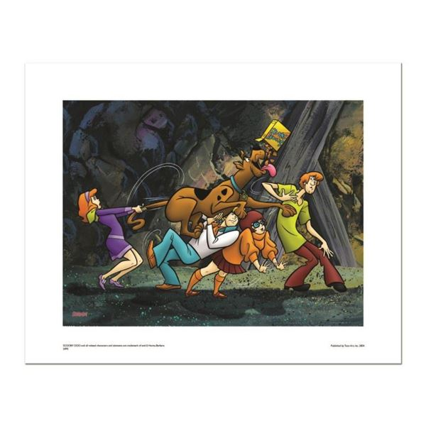 """""""Scooby Snacks"""" Numbered Limited Edition Giclee from Hanna-Barbera with Certific"""