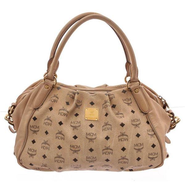 MCM Beige Shoulder Bag